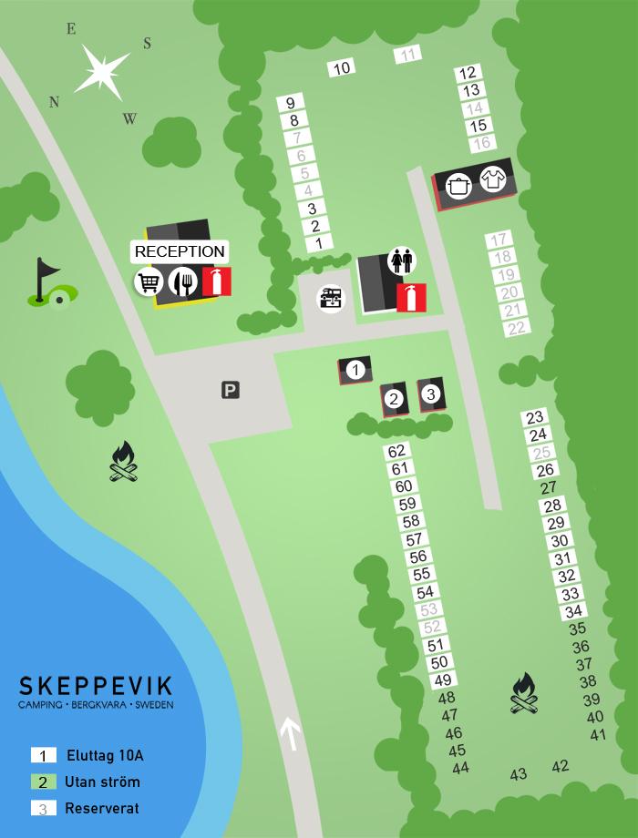 skeppevik地图营地